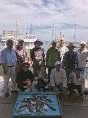 31回釣り大会集合