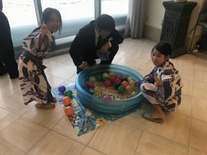 水ヨーヨー釣り(矢野様)