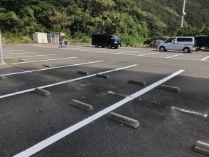 駐車場白線②